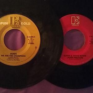 VTG Queen Single 45 Vinyl Record